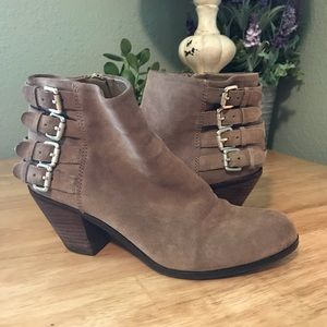 Sam Edelman ankle boots with buckles
